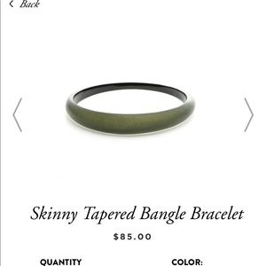 Alexis Bittar tappered bangle